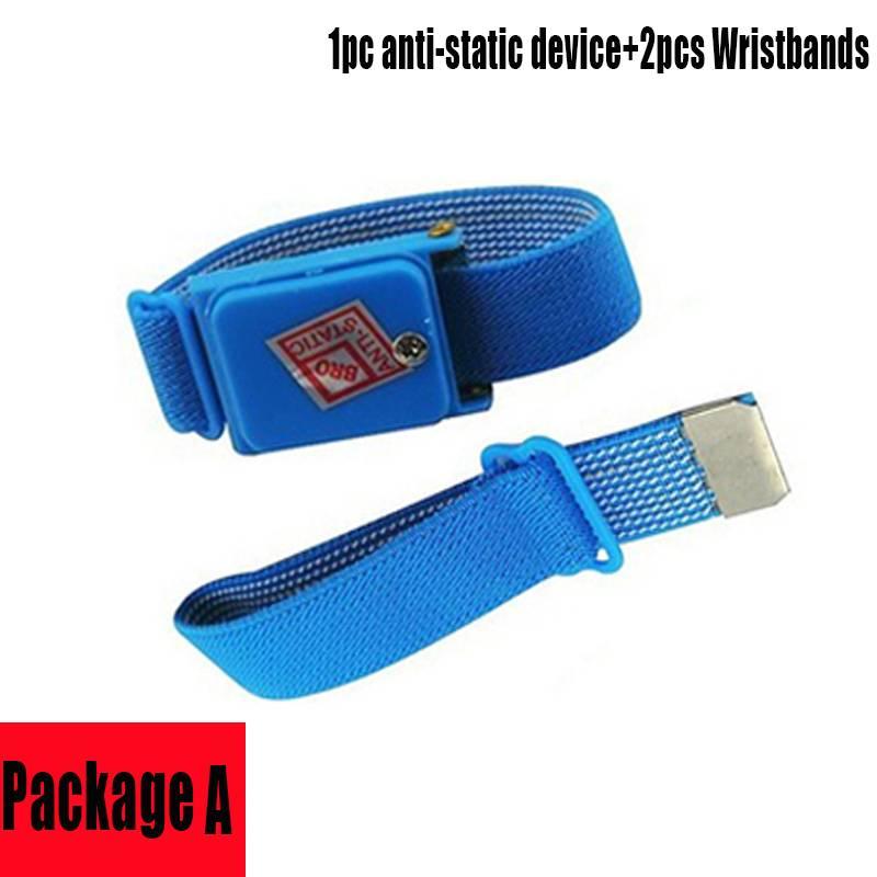 Draadloze Wireless Verstelbare Anti Statische Armband Elektrostatische ESD Ontlading Kabel Wrist Ban