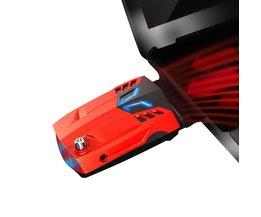 Verstelbare Laptop Cooler Pad USB Draagbare Notebook Koeler Cooling Pad Voor Laptop Notebook <br />  DeepFox