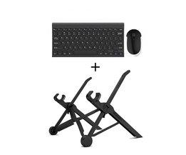 opvouwbare laptop lapdesk hoogte verstelbare met zwart voor laptop notebook pc, ergonomische opvouwbare laptop houder <br />  NEXSTAND