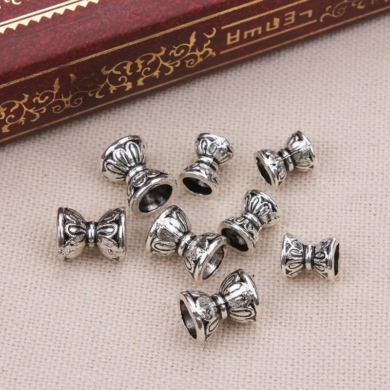 50 stks-partijretro dubbele Lotus 8*8 bead caps voor Kettingen armbanden diy sieraden accessoires