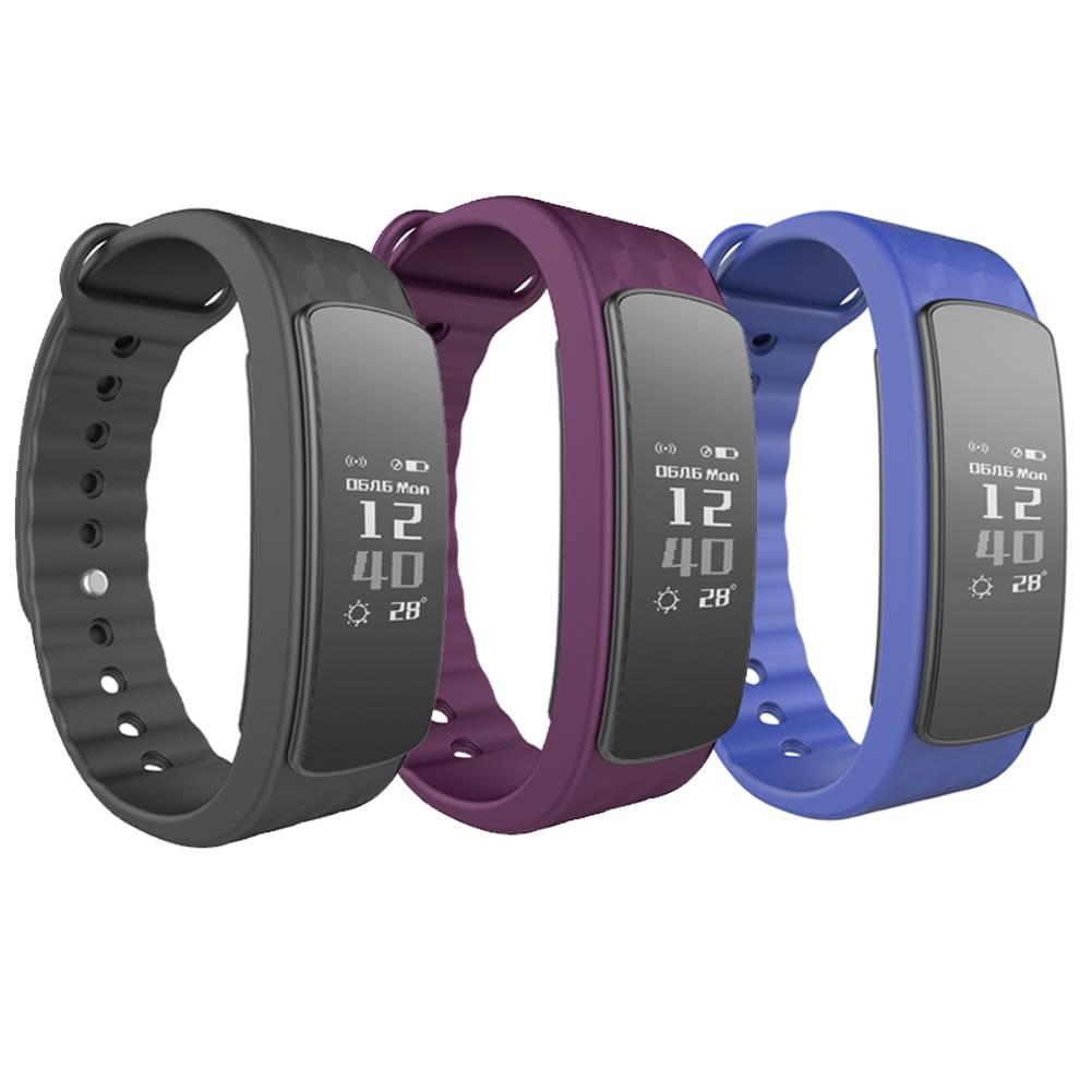 Waterdichte IP67 Sport Smart Horloge I3Hr Hartslagmeter Stappenteller Gezondheid Armband Touchscreen
