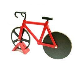 Fietswiel Mes Pizza Cutter Dual Bike Ronde Staal Pizza Schop Koken Tool Keuken Accessoires Pizza Gereedschap <br />  EH-LIFE