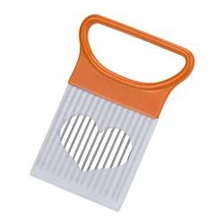 MyXL Rvs Tomaat Ui Groenten Snijmachine Snijden Aid Houder Gids Snijden Cutter Safe Metalen Vork Gadget Keuken Gereedschap <br />  ZMHEGW