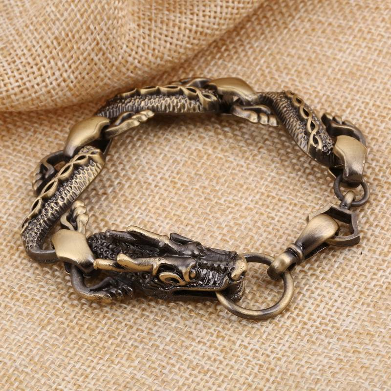 Zoshipunk dragon charm armbanden voor vrouwen armbanden & bangles mannen pulseira sieraden  ZOSHI