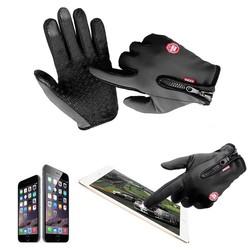 MyXL Motorfiets Handschoenen Windstopper Volledige Vinger Ski Handschoenen Warm Rijden Handschoen Buitensporten Ml Xl