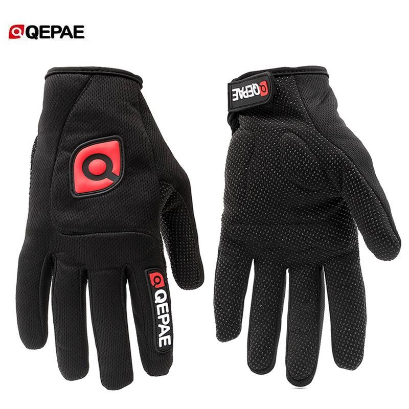 QEPAE Mannen-Vrouwen Winter Outdoor Fietsen Mountainbike Handschoenen Racefiets Riding Antislip Voll