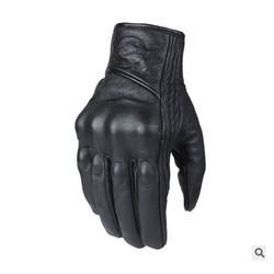 MyXL Lederen Winter Motorhandschoenen Fietsen Moto Motorbike Beschermende Gears Motocross Handschoen