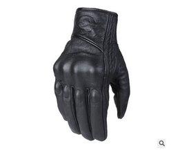 Lederen Winter Motorhandschoenen Fietsen Moto Motorbike Beschermende Gears Motocross Handschoen