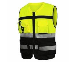 YUANMINGSHI Motorfiets Werkkleding Veiligheid Reflecterende Kleding Vest Chaleco Reflectante Veiligheid Vest Reflecterende Vest Gilet Jaune