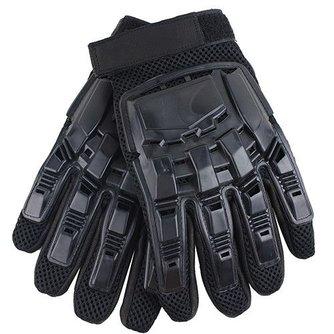 Heren Lederen Driving Handschoenen Tactische Handschoenen Militaire Gewapende Paintball Airsoft Outdoor Sport Fitness Handschoenen Volledige Vinger Guantes
