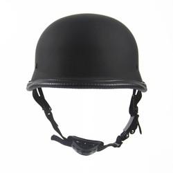 MyXL Duitse motorcycle wwii stijl half helm chopper biker pilot goggles open gezicht moto motocicleta capacete casco casque kask
