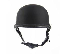 Duitse motorcycle wwii stijl half helm chopper biker pilot goggles open gezicht moto motocicleta capacete casco casque kask
