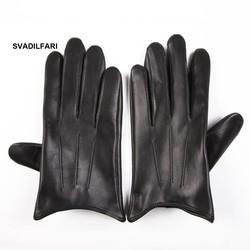 MyXL SVADILFARI groothandelLente Vrouwelijke Real Leather Korte Dunne/Dikke Zwarte Touchscreen Handschoenen vrouw Auto Vrouwen Rijden Wanten
