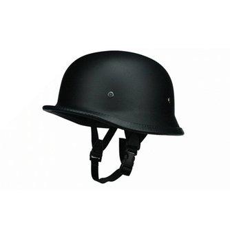 wwii duitse stijl zwart half helm motorfiets chopper biker piloot bril nieuw
