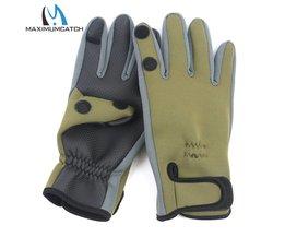 Maximumcatch 1 Paar Neopreen Vissen Handschoenen Waterdichte Antislip Vissen Handschoenen