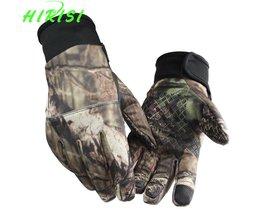 Camouflage Vissen Handschoenen Screen Touch Jacht Handschoenen Outdoor Sporting Camping SML