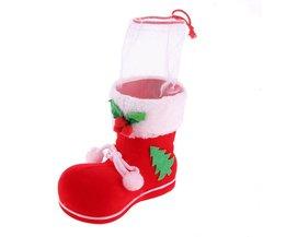 1 stks Mini Kerst Kousen Xmas Boom Decoraties Kerst Festival Party Ornament laarzen Snoep zakkenKerst Houders