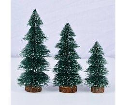 3 Sizses Mini Kerstboom Festival Thuis Kantoor Tafel Decor Party Ornamenten Xmas DecoratieVoor Nieuwjaar Supply P25
