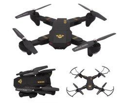 VISUO XS809HW Opvouwbare Wifi FPV Met 2MP Camera Hoogte Houden g-sensor Modus RC Quadcopter RTF 2.4 GHz