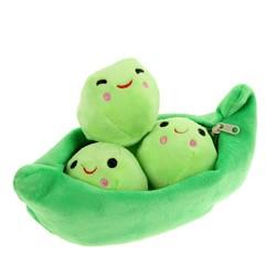 MyXL 25 cm Erwt Plant Pop Zachte Bloemen Knuffels voor Kinderen Kids Gevulde Baby Erwt Leuke Pasgeboren Speelgoed Willekeurige Kleur