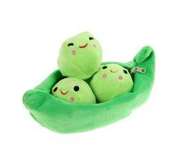 25 cm Erwt Plant Pop Zachte Bloemen Knuffels voor Kinderen Kids Gevulde Baby Erwt Leuke Pasgeboren Speelgoed Willekeurige Kleur