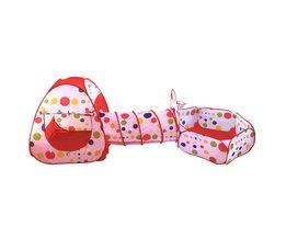 1 Stks Zwembad-Buis-Teepee 3 st Pop-up Play Tent Kinderen Spelen Tunnel Kids Play Gaming speelgoed Huis Spelen Tent Lodge voor Kinderen