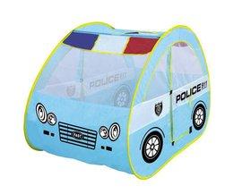 BOHS Speelgoed Tent Politie Patrouillewagen voor kids Opvouwbare Tent met Auto Vorm Leuke en Draagbare fun plaats voor babies