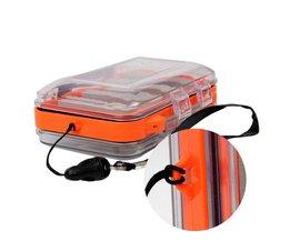 Outdoor Plastic Waterdichte vliegvissen Dubbele Side Clear Slit Foam vliegvissen Box FLY BOX Tackle Case Box