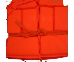 Professionele Volwassen Levensduur Jas + Whistle Foam Vest Survival SuitOutdoor Badmode Water Sport Zwemmen Drifting Vissen