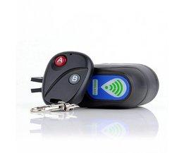 Koop Professionele Anti-diefstal Fietsslot Fietsen Security Lock Draadloze Afstandsbediening Trillingen Alarm 110dB Fiets Alarm