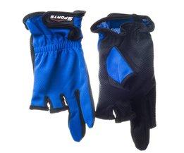 Top Kwaliteit Buitensporten Anti Slip Comfortabele Vissen Handschoenen/antislip Vissen Handschoenen