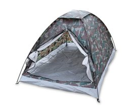 Outdoor Camping Strand Draagbare Tent voor 2 Persoon Enkele Laag Tenten Polyester PU1000mm Camouflage