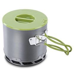 MyXL DS-202 4 stks/set Draagbare Outdoor Servies Camping Wandelen reizen Kookgerei Koken Picknick non-stick Kom Pot Pan Set + Netto Zak