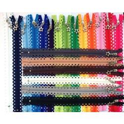 MyXL 20 STKS Mooie Sterren Kant Plastic Nylon Ritsen Voor DIY Handgemaakte Accessoire Tailor Naaien Craft Tas Kledingstuk Materia