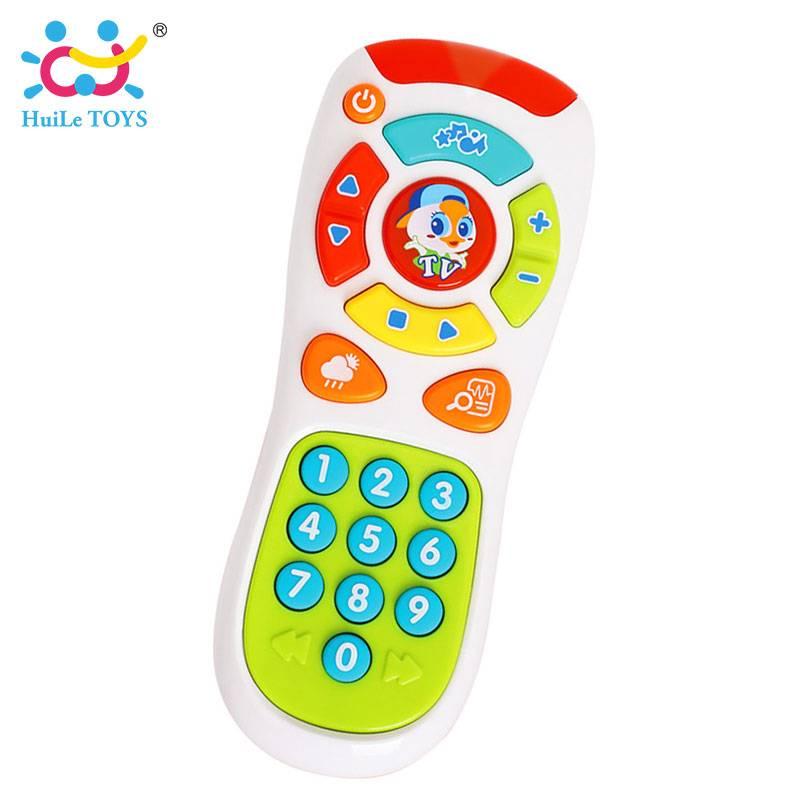 HUILE SPEELGOED 3113 Baby Speelgoed Elektrische Klik & Count Remote met licht & Muziek Kids Vroeg Le