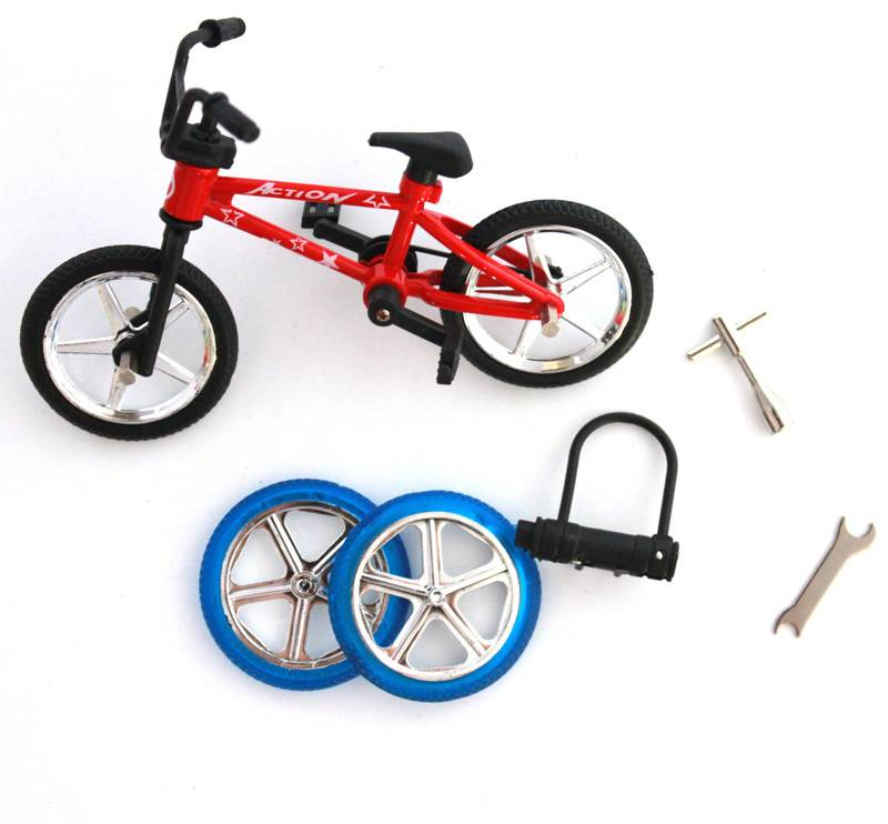 Uitstekende Kwaliteit bmx speelgoed legering Vinger BMX Functionele kids Fiets Vinger Bike mini-ving