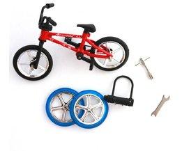 Uitstekende Kwaliteit bmx speelgoed legering Vinger BMX Functionele kids Fiets Vinger Bike mini-vinger-bmx Set Bike Fans Speelgoed