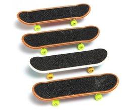 2 Stks Toets Truck Mini Vinger Skateboard Speelgoed Jongen Kids Kinderen