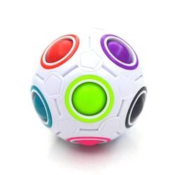 MyXL Strange-shape Magic Cube Fidget Speelgoed Bureau Speelgoed Anti Stress Regenboog Bal Voetbal Puzzels Stress Reliever Fidget cube