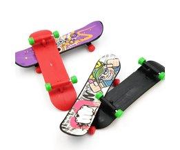4 stks Mini Vinger Skateboard Toets Voor Tech Deck Legering Stents Scrub Vinger
