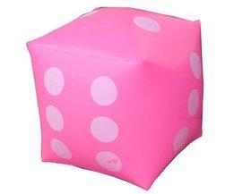 60*60 CM Grote Milieu Opblaasbare Dobbelstenen Speelgoed kinderen Spel Speelgoed Verjaardagsfeestje Props Kleurrijke Grappige Dobbelstenen Speelgoed