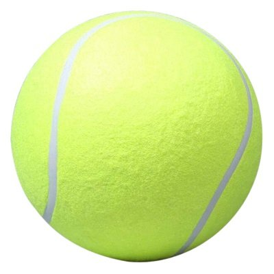 24 CM Giant Tennisbal Voor Pet Chew Speelgoed Grote Opblaasbare Tennisbal Handtekening Mega Jumbo Hu