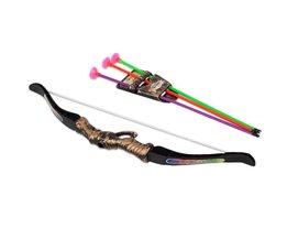 TOFOCO Plastic Boogschieten Boog Pijl Speelgoed Voor Kinderen Boog 35 cm Pijl 30 cm Speelgoed Sport Outdoor Schieten Leuk Speelgoed voor Kids