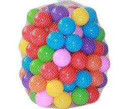100 stks/partij Milieuvriendelijke Kleurrijke Ball Zacht Plastic Ocean Ball Grappige Baby Kid Swim Pit Toy Water Zwembad Oceaan Golf Bal Dia 5.5 cm