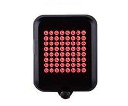 64 LED Fiets Achterlicht Waterdicht Intelligente Automatische Inductie Steering Brake USB Opladen Veiligheid MTB Waarschuwing Nachtlampje