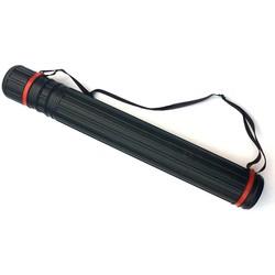 MyXL 63 cm-100 cm PE Telescopische Pijl Boogschieten Houder Pijl Buis Jacht Tas Quiver 20 stks Pijlen met verstelbare Back Strap