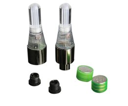 4 stks RGB LED Tyre Ventieldopjes Neon Light Fiets Auto motorfiets lichten fiets accessoires