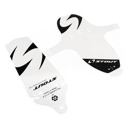 MyXL TOMOUNT Fender Fietsen Mountainbike Fiets Voor Achter Spatlap Spatbord Fenders 27g PP Zwart Wit Fietsen Aupply