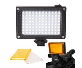 Mini LED Video Light Photo Verlichting op Camera Hotshoe Dimbare LED Lamp voor Canon Nikon Sony Camcorder DV DSLR Youtube