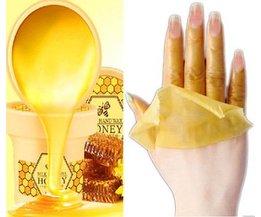 Hand wax honingwax 120g behandeling handen whitening masker huidverzorging verwijderen dode huid peeling exfoliator spa hydraterende